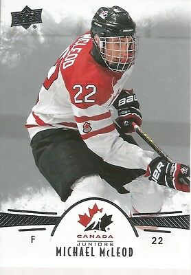 Michael McLeod #64 - 2016 Team Canada Juniors - Base Men