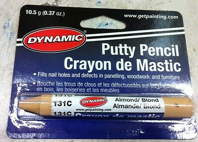 Dynamic PUTTY PENCIL ALMOND FILL 131C PA10131C painting supplies filler BLOND