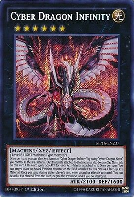 Cyber Dragon Infinity (MP16-EN237) - Secret Rare - Near Mint - 1st Edition