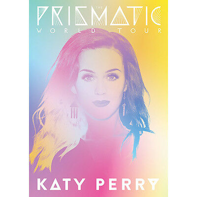 Katy Perry Prismatic World Tour Book 2014 Concert Program Book Comic Stickers