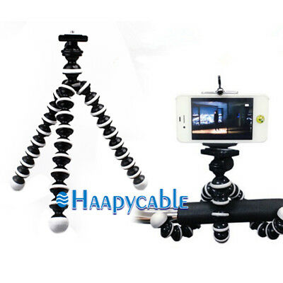 New Generic Flexible Octopus Tripod Stand Holder for Canon GoPro HD Camera