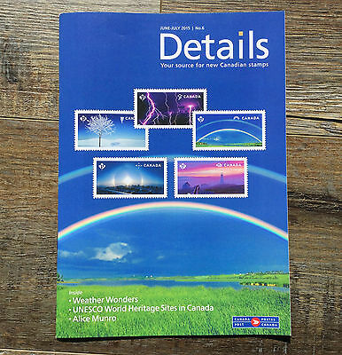 "2015 UNESCO World Heritage Sites ERROR Stamp  ""Details"" Brochure"