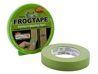FROG TAPE MULTI SURFACE MASKING TAPE 36mm X 41.1m ROLL GREEN