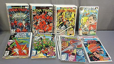 STAR TREK #1-56 + Annual #1-3 (Complete Run) High Grade DC Comics 1984