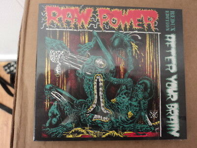 Raw Power - After Your Brain (redux edition) CD kbd gism upset noise ubr  SEALED