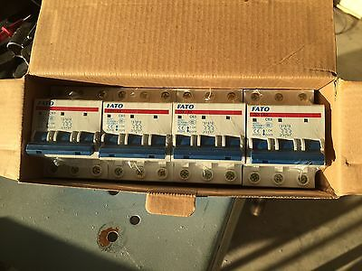 1PC NEW 3P C63A Circuit Breaker switch disconnect 63 Amp