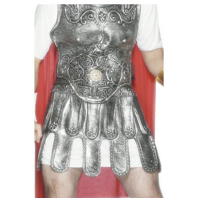 Romans Skirt Fancy Dress Costume Accessories Carnival Rock Soldiers Armor Silver