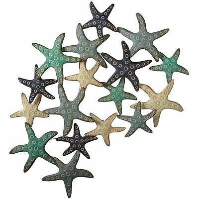 Large Spectacular Starfish Decorator Metal Art - Sea Ocean Beach Coastal Marine