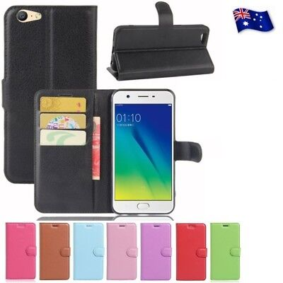 Wallet Leather Flip PU Case Cover For Oppo F1S | F1 | A57+ FREE Screen Protector