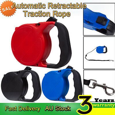8M Pet Dog Puppy Automatic Retractable Traction Rope Walking Lead Leash Strap
