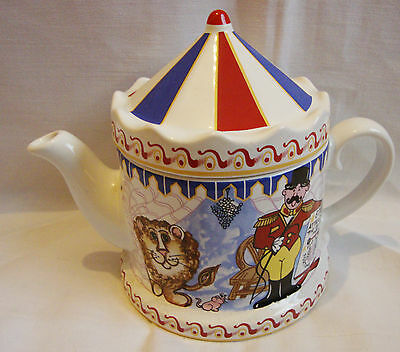 Wade Novelty Collectors Teapot - The Ringmaster - Made for Boots - VGC