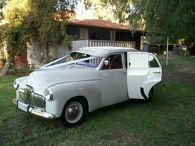 Chauffeur Driven FX Holden Vintage 1950 - For Weddings and Balls