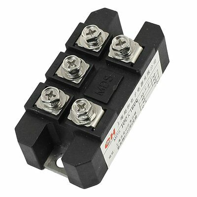 WD ChaoHe MDS-100A 5 Terminals 3 Phase Diode Module Bridge Rectifier 100A 1600V