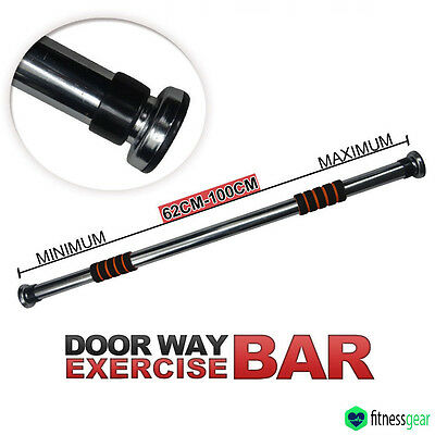 Door Bar Home Fitness Gym Exercise Doorway Pull Chin Sit Up Workout Push Up Abs