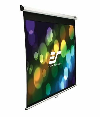 Elite Screens M135XWV2W 135 Inch 4:3 Manual Pull Down Projector Screen
