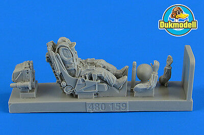 Aerobonus Soviet Fighter Pilot with ejection seat for Su-27 Flanker 1/48 #480159