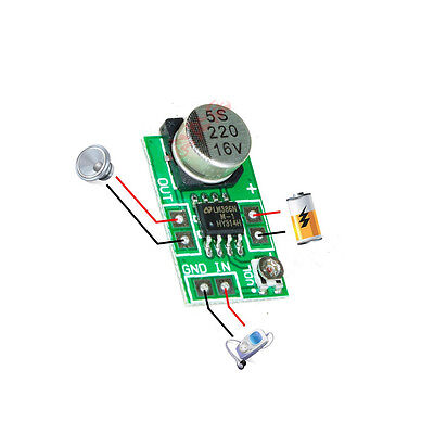 Mini LM386 Audio Power Amplifier Board DC 3~12V 5V Micro Amp Module 750mW