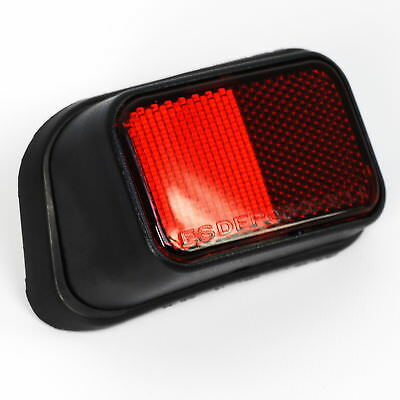 Rear Red Reflector for Toyota Hilux pickup Mk4 Mk5 01-5 LH D4D nearside N/S lens
