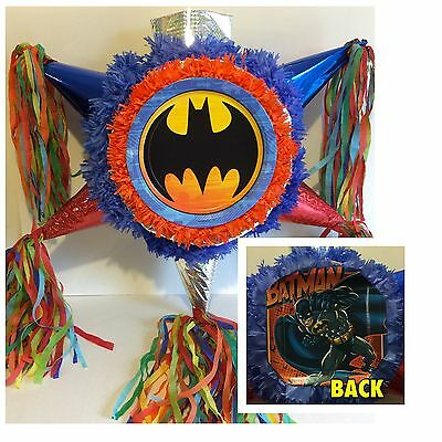 Batman Pinata Handcrafted Two-Sided