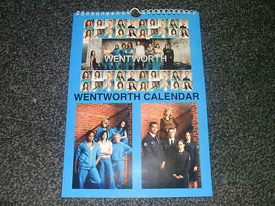Wentworth Prison Classic Tv Show And Dvd Inspired Calendar 2017 Uk Seller