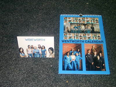 Wentworth Prison Tv Show And Dvd Inspired Calendar And Greetings Card Gift Set