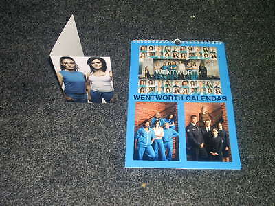 Wentworth Tv Show And Dvd Inspired Calendar And Greeting Card Gift Set Uk Seller