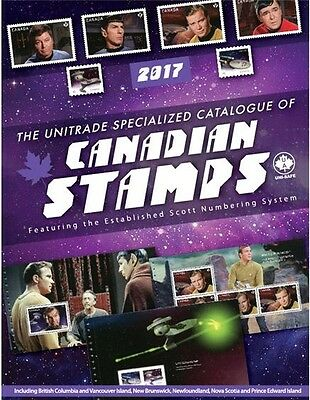 2017 Unitrade Specialized Catalogue of Canadian Stamps NOW AVAILABLE! - $48.95