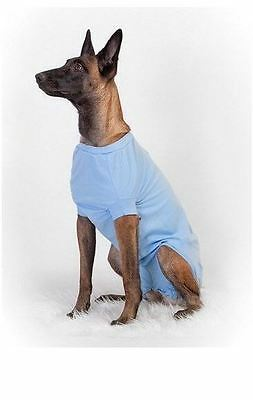 Medical Pet Shirt DOG CAT Veterinary Operation Wound Dressing Recovery Body Suit