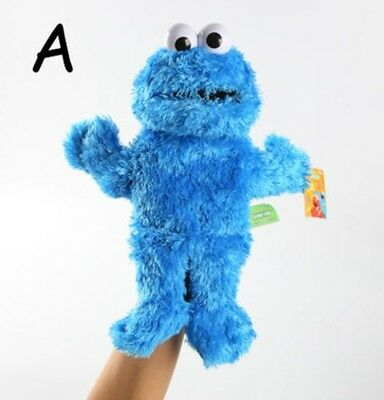 SESAME streeet cookie monster full body hand puppet  game puppets U113 storytell