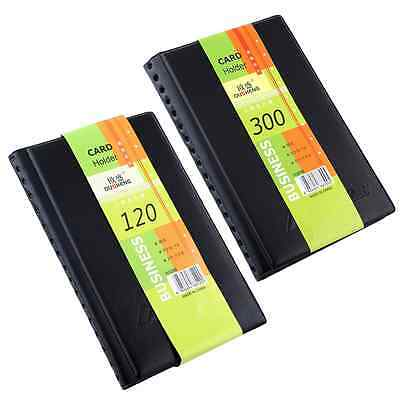 120/300pcs Business Name ID Bank Card Holder Book Wallet Case Cover Organiser
