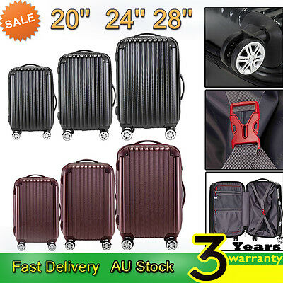 Luggage Suitcase Trolley TSA Lock Travel Carry on Bag Hard Case Lightweight Bags