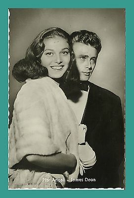 PIER ANGELI - JAMES DEAN | Starpostkarte | Kolibri