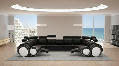 ecksofa ledersofa polster couch xxl big wohnlandschaft ledersofa sofa berlin4 eur. Black Bedroom Furniture Sets. Home Design Ideas