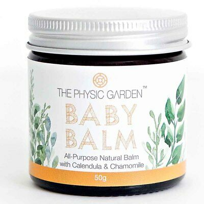 The Physic Garden Baby Balm (50g) | Natural Organic Vegan NEW