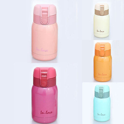 Portable Double-Layers Vacuum Hot Water Travel Office Mug Thermos Bottle