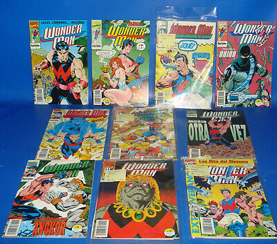 Lote comics WONDER MAN marvel comics 10 numeros-1 al 9+ annual-Forum