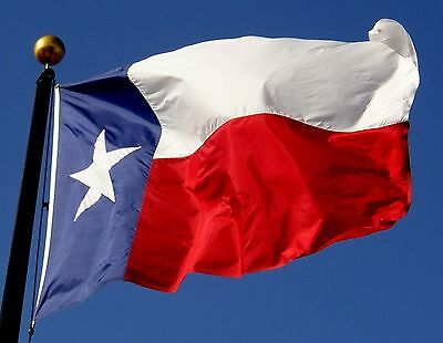 Texas State Flag Heavy Duty Nylon American Material &  Labor