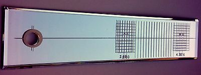 Cartridge Stylus Alignment Protractor *NEW*