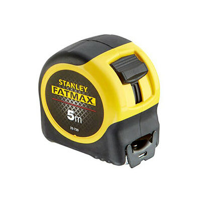 Stanley STA033720 Fatmax 5m Blade Armor Metric Only Tape Measure 0-33-720 New