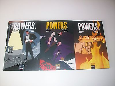 Lot Powers Tome 1-3 Semic France Comme Neufs
