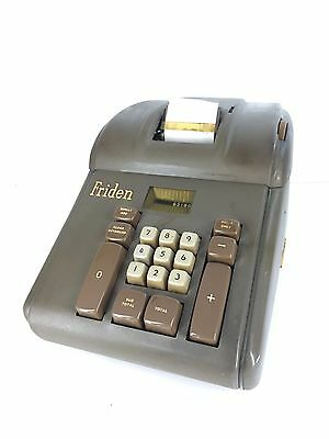 Friden Calculating Machine Vintage Adding USAF Property Military Green USA Made