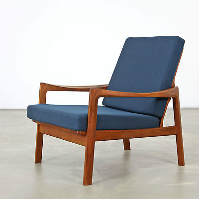 Tove and Edvard Kind-Larsen Easy Chair produced by Gustav Bahus | Norway 60s N1