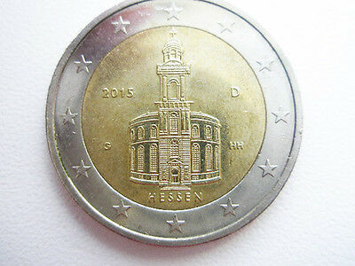 Germany 2015 2 Euro Coin ,, Hessen ''
