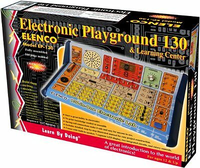 Elenco 130-in-1 Electronic Playground and Learning Center No Soldering