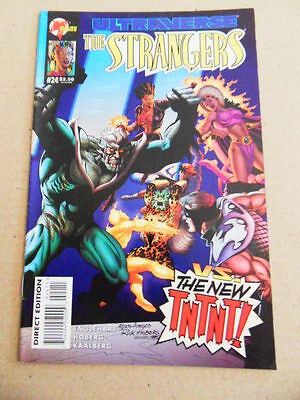 Strangers 24. Last Issue - Malibu 1995 -      FN /  VF