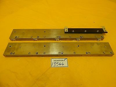 AMAT Applied Materials Anorad Linear Rail Wafer Stage Set of 2 Orbot WF 720 Used