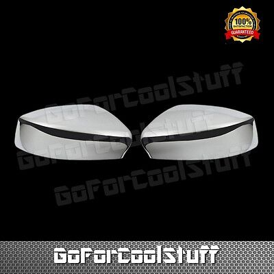 For 13-15 Nissan Sentra Mirror Without Signal Chrome Abs Covers