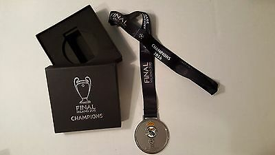 Real Madrid Champions Medal Milano 2016 UEFA CHAMPIONS LEAGUE 11th Cup