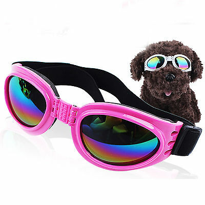 Fashion Adjustable Pet Dogs Goggles UV Sunglasses Puppy  Eye Wear Protection