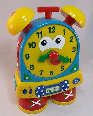 Talking Telly Teaching Time Clock The Learning Journey Move Hands Analog Digital